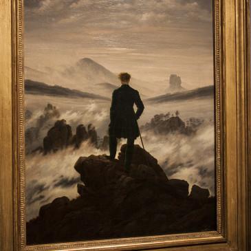 Caspar David Friedrich ed il Viandante sul mare di nebbia