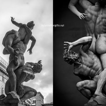 Firenze, Giambologna ed Il Ratto delle Sabine