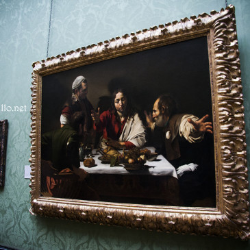 """A  """"cena"""" con Caravaggio"""