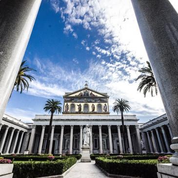 La Basilica di San Paolo fuori Le Mura a Roma!